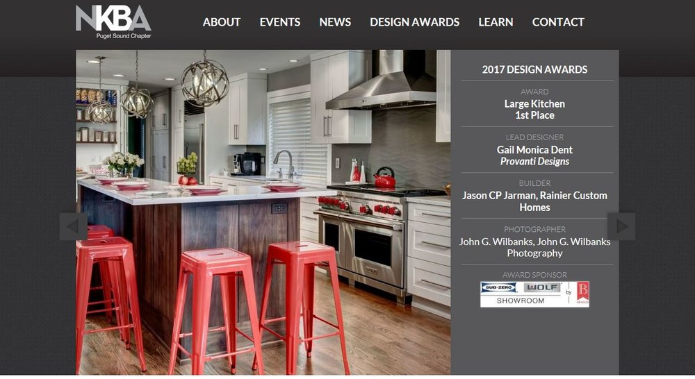2017 NKBA Design Award Winning Kitchen