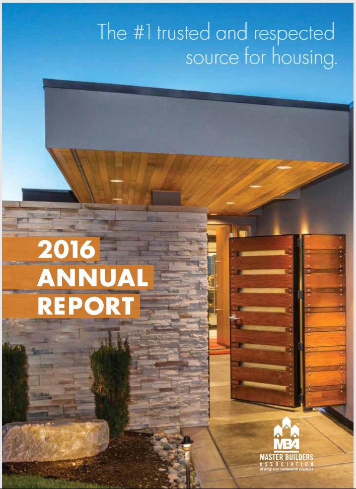 2016 MBA Annual Report