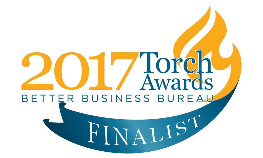 BBB Torch Ethics Award Finalist!