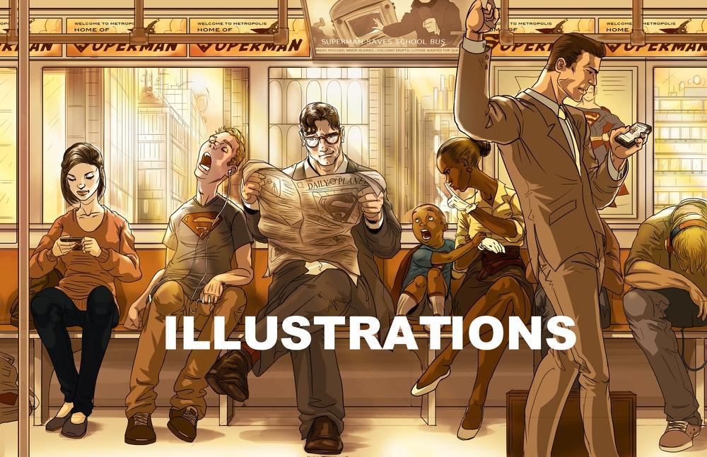 Ben Matsuya Illustrations