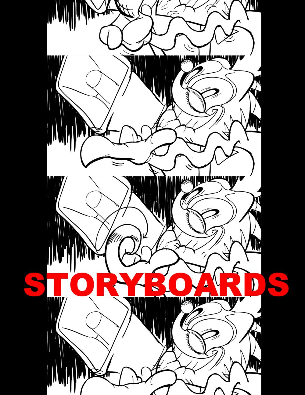 Vardo Bros. Storyboard