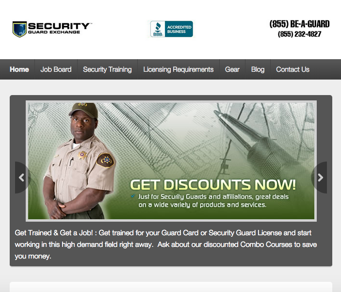 Client: Security Guard Exchange