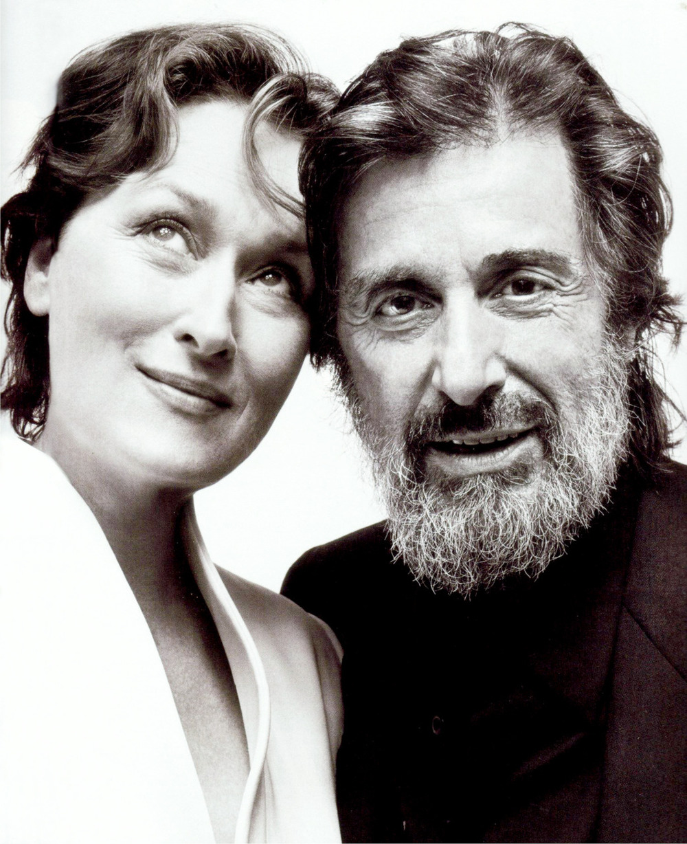 Streep and Pacino from Angels in America circa 2003