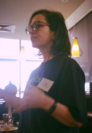 Every new movement has their visionary. This is Sara, the founder of BizBuddyHub.