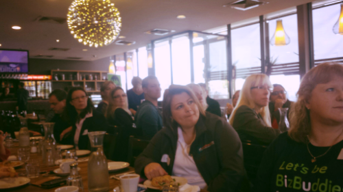 Breakfast launch event of BizBuddyHub, Point Cook in one of the supporting local restaurants