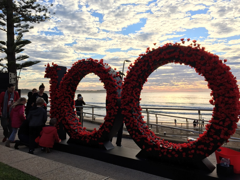 100 YEARS ANZAC TRIBUTE
