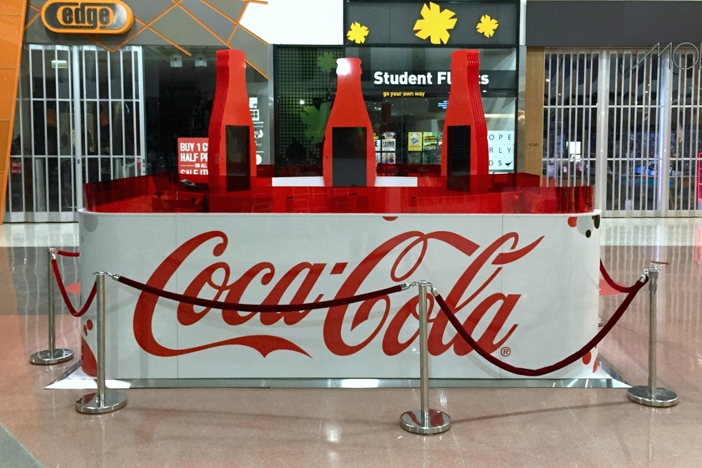 Coca Cola T Shirt Bar Displaywise
