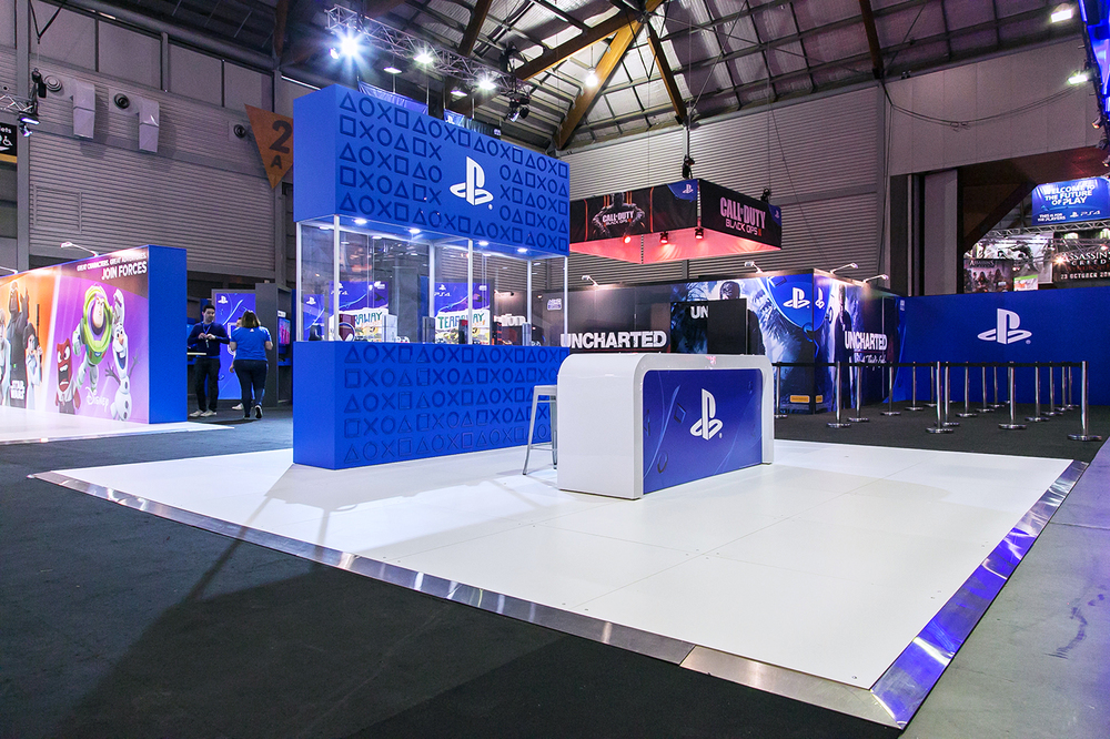 sony playstation makes an impact at eb games 2015 displaywise