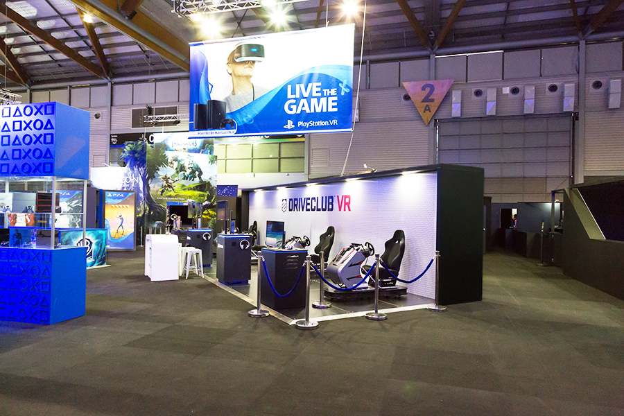Exhibition Stand Games : Sony at eb games 2016 u2014 displaywise