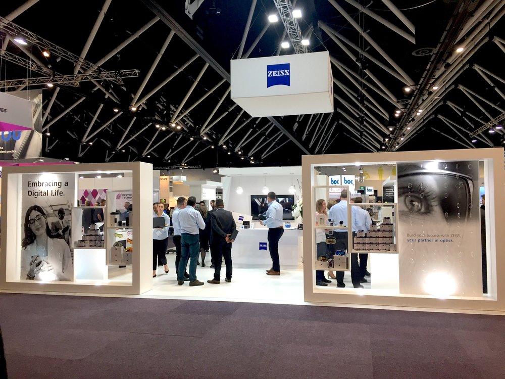 Exhibition Stand Lighting Australia : Exhibition displays — displaywise