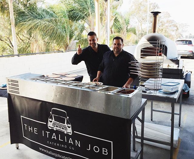A big thanks to @theitalianjobcateringco for their delicious wood fired pizzas at our staff lunch! 🍕