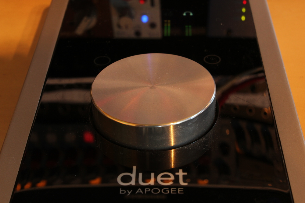 Apogee duet - great converters, handy little interface.
