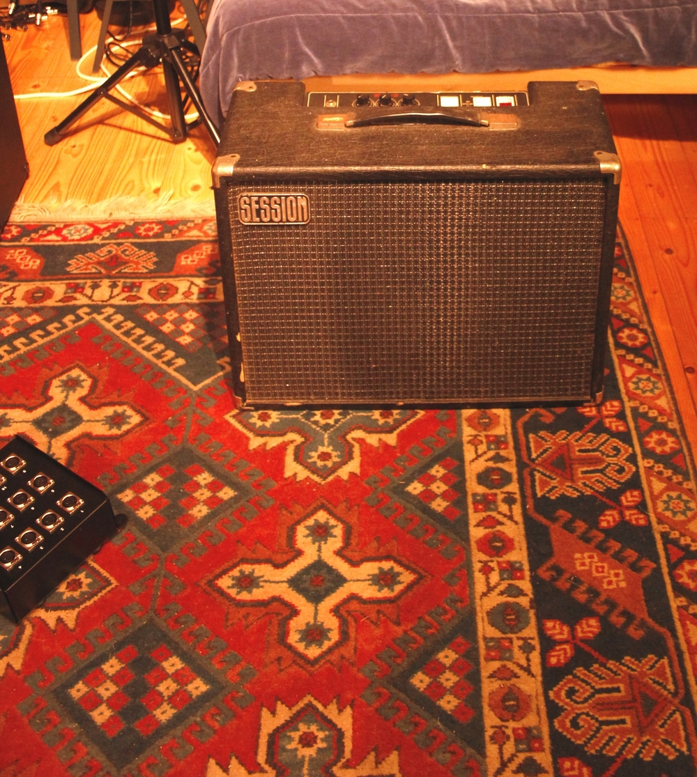Session 15/30. My secret weapon from the 70's. All valve, loud as hell. A beauty.