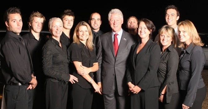 PARTY FOR PRESIDENT BILL CLINTON, GUEST SPEAKER