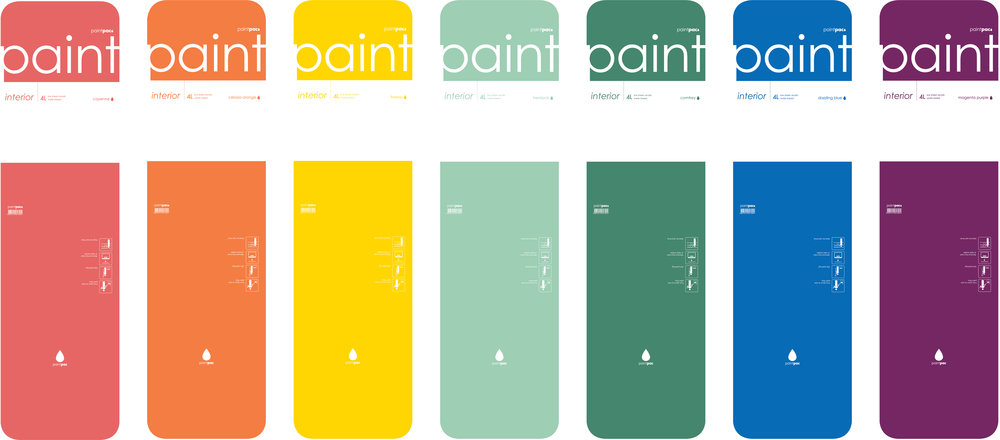Paintpac packaging
