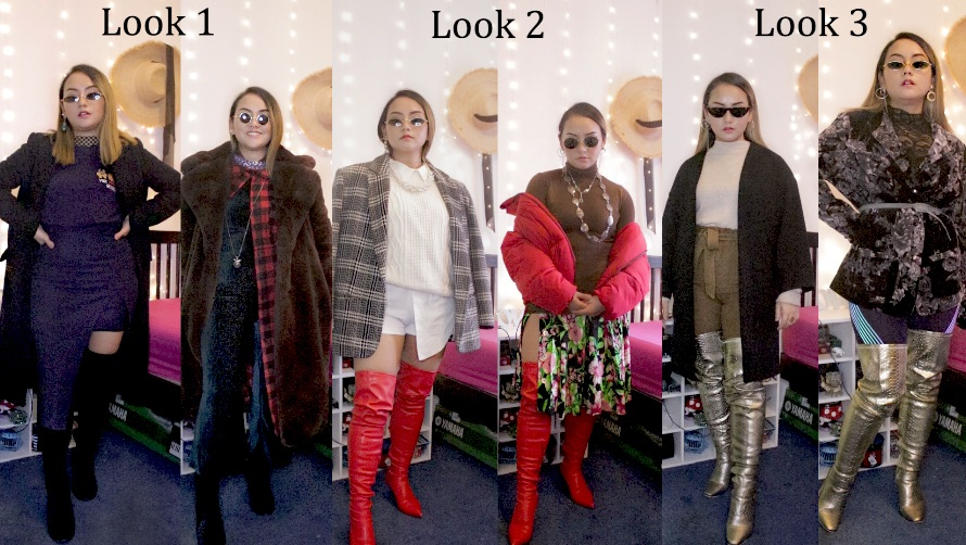 b0e7464dc69 6 Ways To Wear Over Knee High Boots
