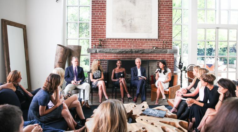 A CFDA health initiative wellness panel, hosted by Donna Karan | Source: Courtesy