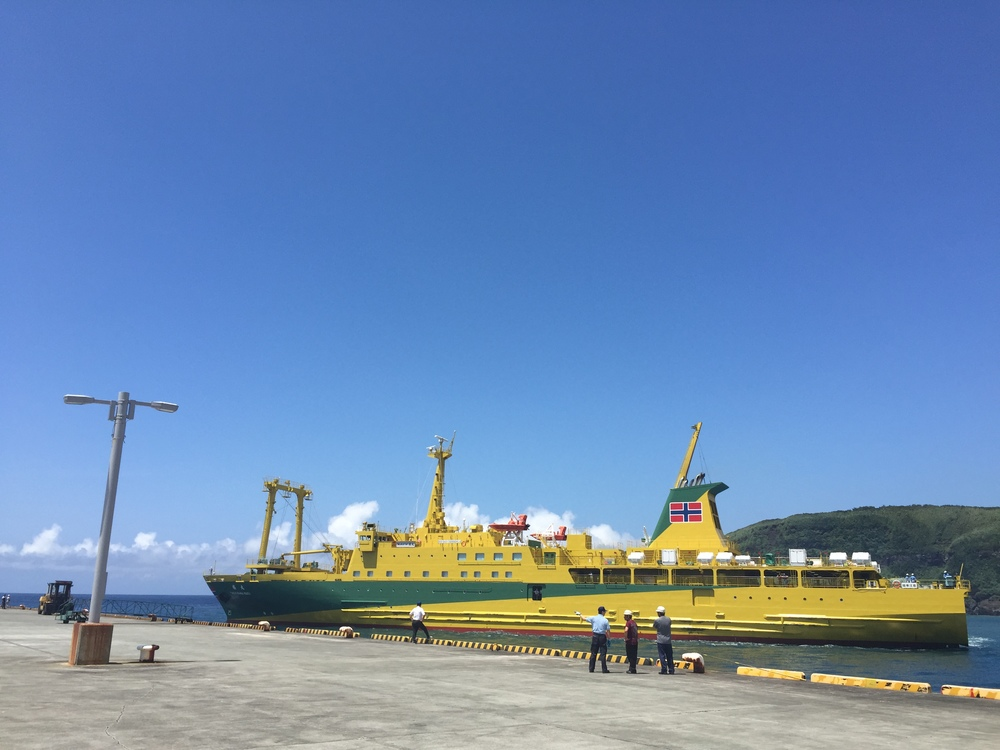 東海汽船株式会社  様からも割引をしていただきました。こども達も大きな船に大興奮でした!