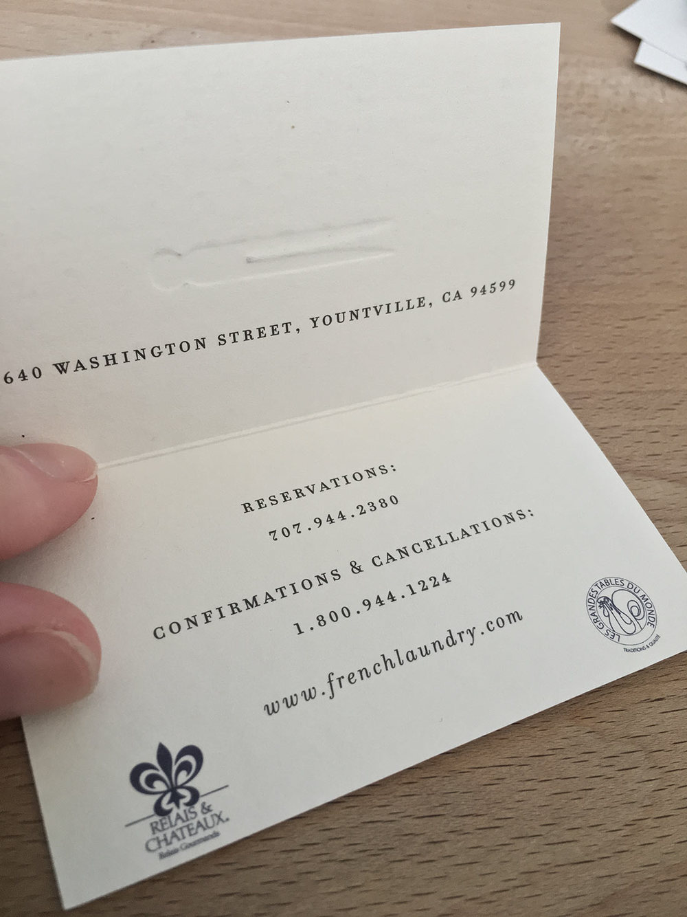 7 awesome business cards from some of the best restaurants in the ...