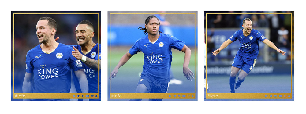 Images 'borrowed' from the official Leicester City Twitter account - twitter.com/lcfc