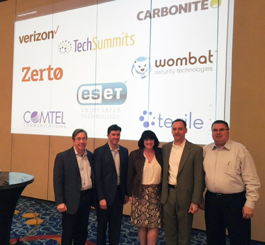 Jack Wheeler, Comtel; Chris Painter, Verizon,; Amy Humphreys , Comtel; Pete Kraehmer, Comtel; Gary Hopkins, Comtel
