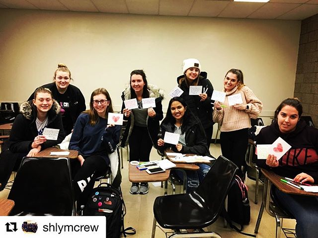 Shout out to LYM Seton Hall for supporting us from miles away! Teens receiving a PAB'S PACK will love these colorful and creative notes!  #Repost @shlymcrew with @get_repost ・・・ The other night our crew and club members had the chance to write letters to patients for @pabspacks. A great way to spread happiness and put a smile on someone's face😄 We can't wait to have more opportunities like this in future!