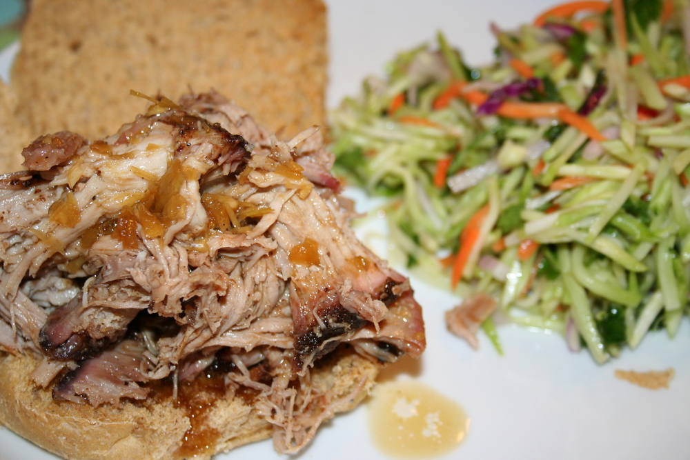 Pork Sandwiches with Slaw