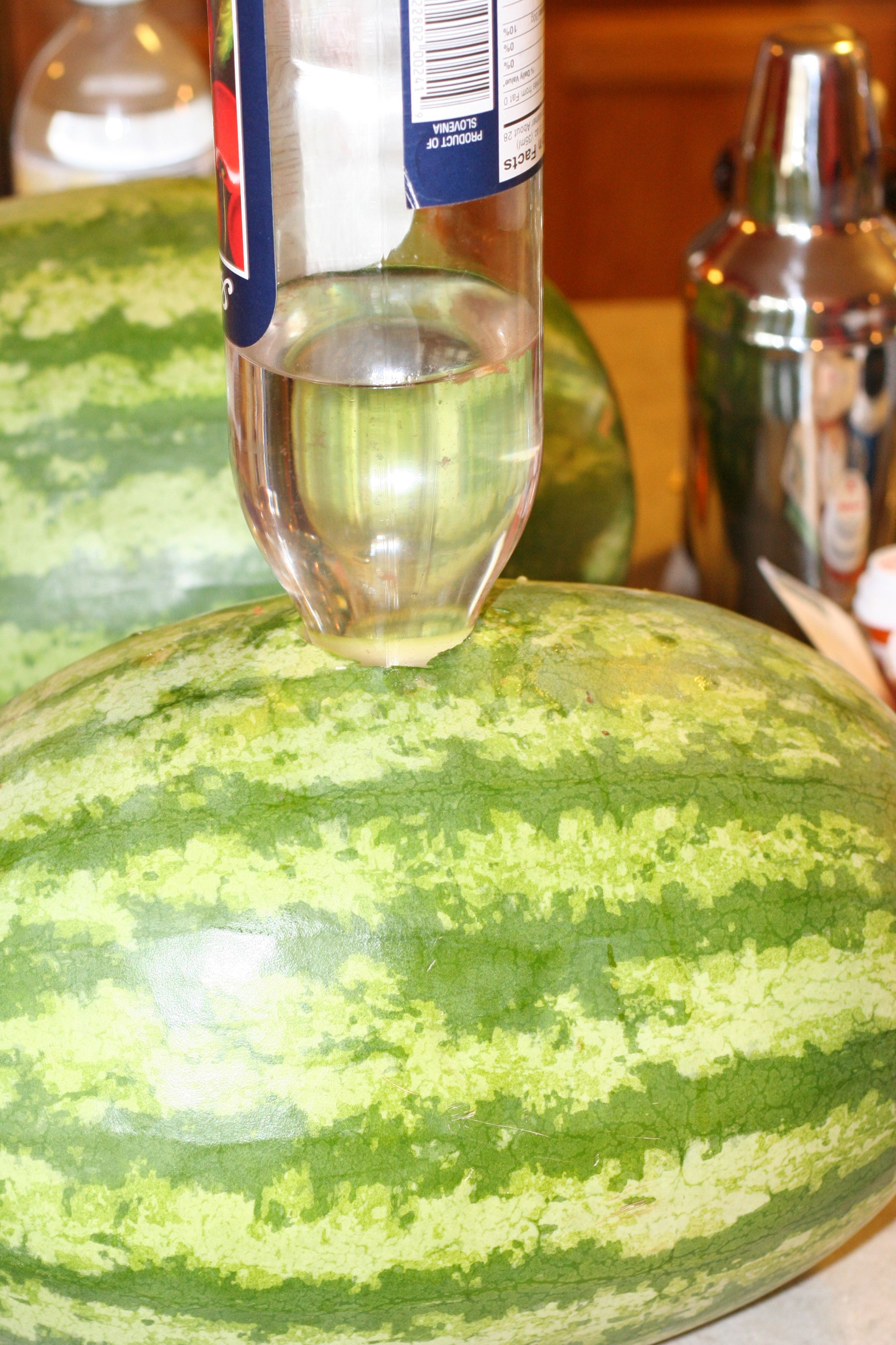 Vodka and Watermelon