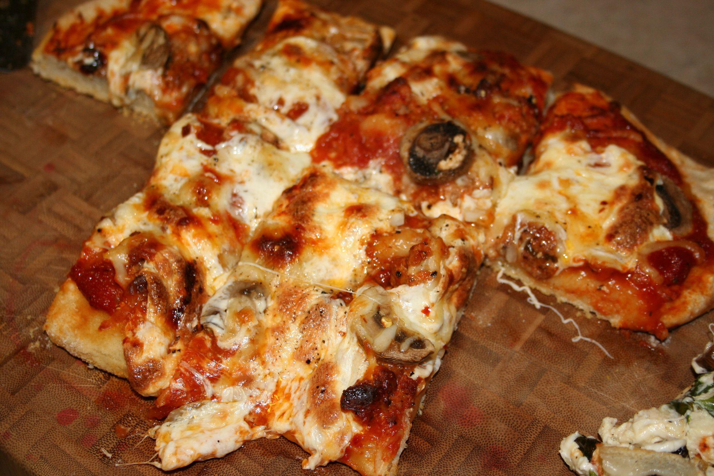 Sausage & Mushroom Pizza