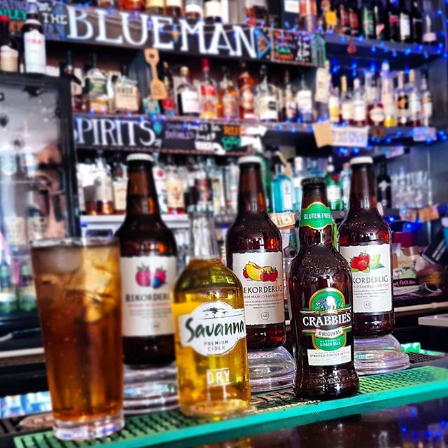 Thirst quenching selection of ciders and ginger beer @bluemanbrighton. . . . . #brighton #brightonbar #brightonvenues #brightoncafe #brightonlanes #brightonresort #brightonandhove #cider #northafrica