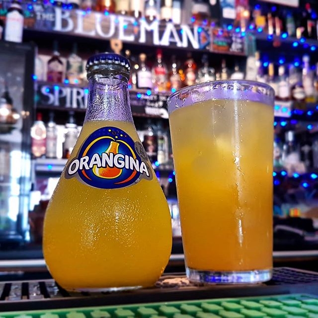 @Orangina, invented at a trade fair in Algeria, later developed by Augustin Trigo Mirallès from Spain, then it was first sold in Algeria by Léon Beton in 1935. As the decades passed it has proven popular beverage across  Europe, Japan and northern Africa. . . . . #themoreyouknow #brightonandhove #brightonvegan #Brighton #brightonfood #brightondrink #original #northafrica #orangina