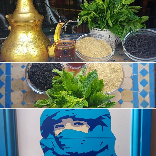 In North Africa we've been keeping cool for a long time. So you could say we know a thing or two. Using astringent herbs like black tea which help to cool and dry the body displacing humidity. Not only this the tuareg from which we get our name from used blue clothing for its cooling properties. So if you're feeling the heat pop in to let us chill you out! . . . #brightonandhove #brighton #brightonvegan #northafrica #tuareg #algeria #tunisia #morocco #mali #nigeria #cool #tea