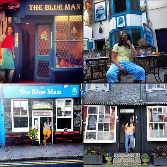 Two decades in and what a journey it has been! Couldn't have done it without out our lovely customers!  Happy summer from The Blue Man!💙💙💙 . . . #brighton #brightonandhove #brightonfood #brightonvegan #resturant #Brightonbar #brightonlanes  #hanover #brightonfringe #brighronlove #brightoncafe #brightonoriginal #brightonpier #brightonseafront #brightonpride #brightonlife #hoveactually #hanover #original #northafrica #algeria #tunisia #morocco