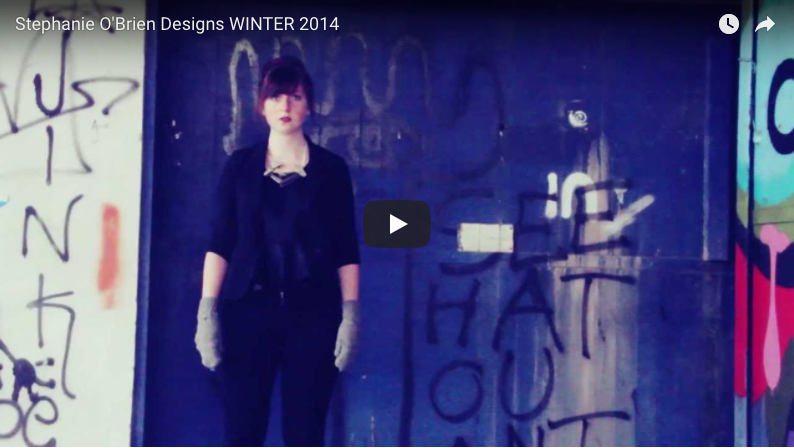 Stephanie O'Brien Designs WINTER 2014 - Video by: Susan O'BrienPromotional Video for Stephanie O'Brien Designs