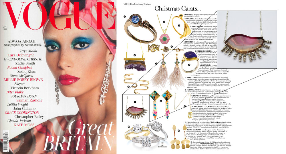 British Vogue  Christmas Carats..., December 2017