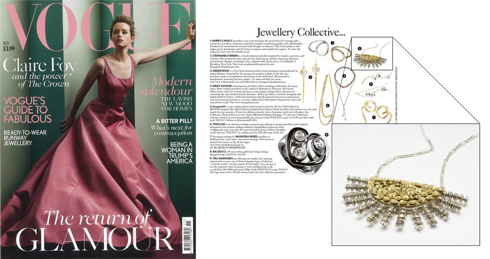 British Vogue  Jewellery Collective..., November 2017