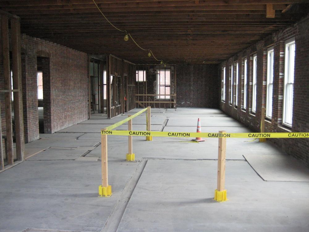 Open Floor, Class-A Office Space