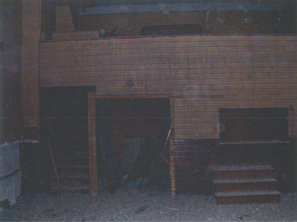 The mezzanine over the snackbar of the 4th floor ballroom.