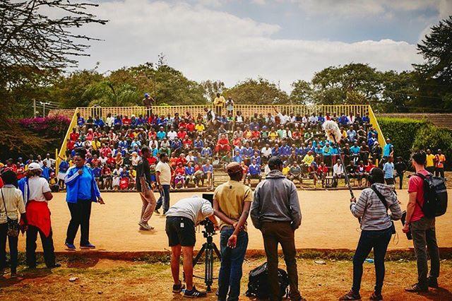 Filming at REC School sports carnival in Nairobi. . . . . . . #behindthescenes #Canon #canon5Dmarkiii #zeisslens #photography #bts #film #documentary #kenya #nairobi #primelens #reddigitalcinema #R3D #helium8k #redcameras #kibera