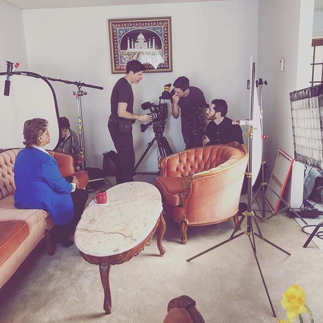 Flashback to our short documentary shoot last week. We really do get to meet amazing humans.