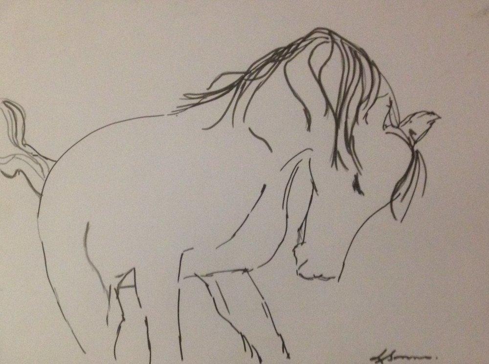 Line Drawing, Ink on paper..jpg