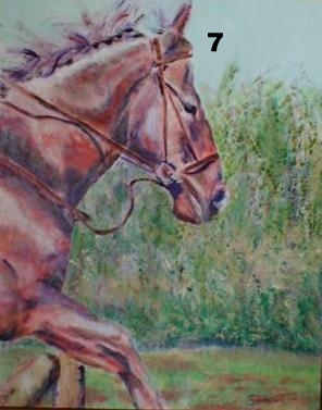 Sunday Stroll, Oil on canvas.