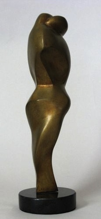 Sculpture-Abstract-Lilian R. Engel: The Hug