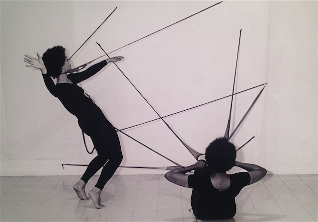 Senga Nengudi and Maren Hassinger,  Performance Piece , 1978