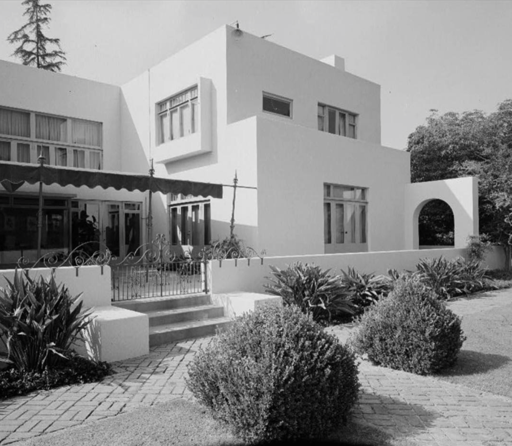 Irving gill. dodge house, los angeles 1914