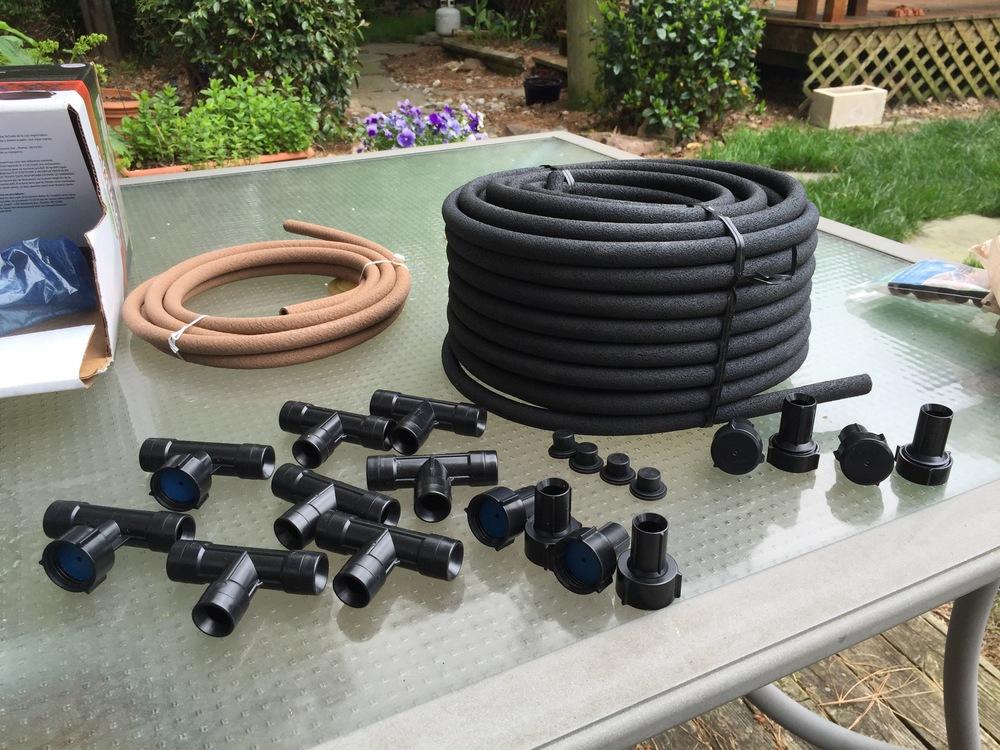 full set of Element soaker hose kit