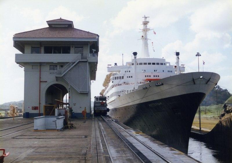 Panama Canal Transit - Holland-America Rotterdam VI