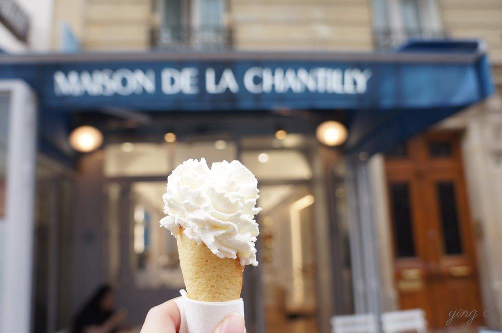 圖1. 巴黎香緹鮮奶油專賣店 Maison de la Chantilly(攝影:Ying Chen)