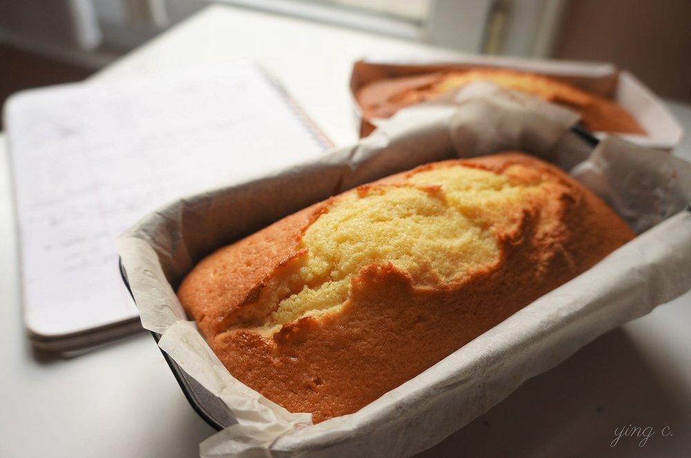 圖2. 法式甜點中的 cake au citron 檸檬蛋糕。