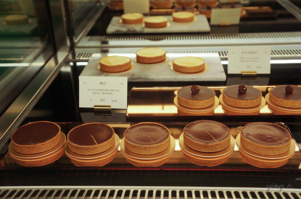 畬室共有七款巧克力塔,每日會精選兩三種推出,另外還有香草檸檬塔。